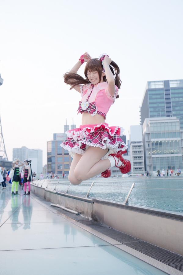 The Idolmaster Uzuki Shimamura Cosplay