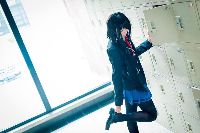 Date A Live Kurumi Tokisaki Cosplay School Uniform Ver