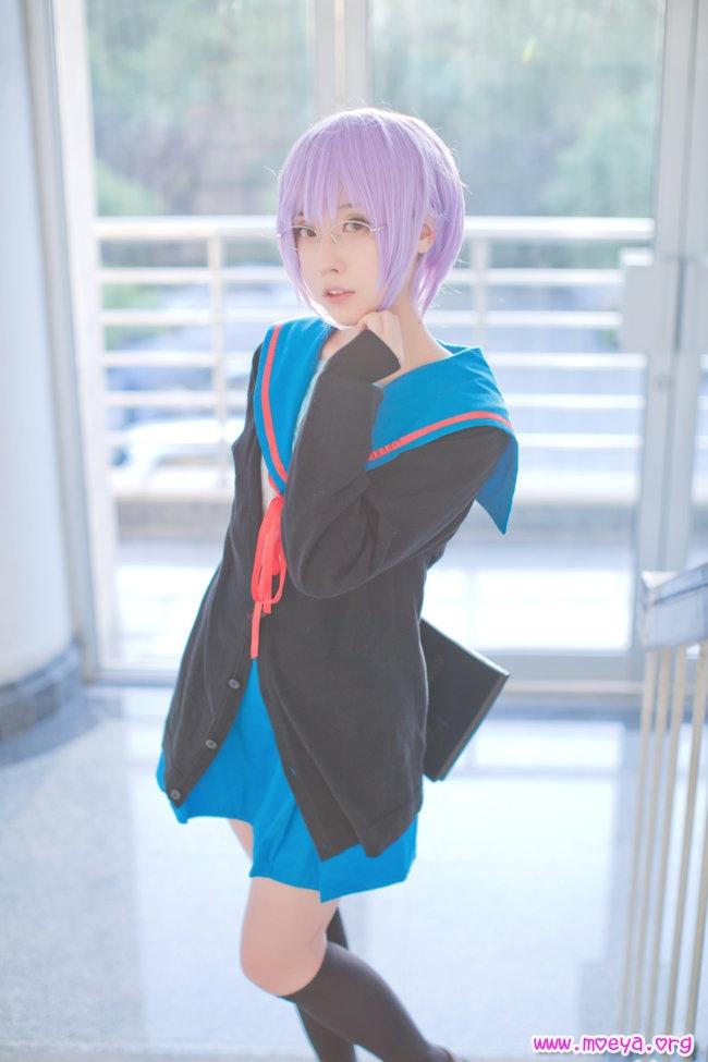 Suzumiya Haruhi no Yuuutu Yuki Nagato Cosplay