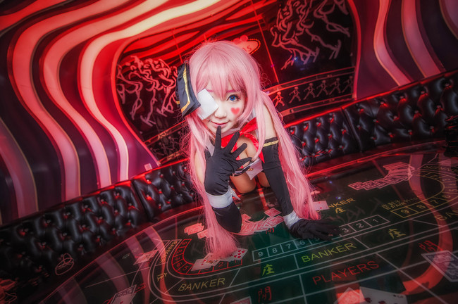 Vocaloid LUKA Cosplay BLACK JACK